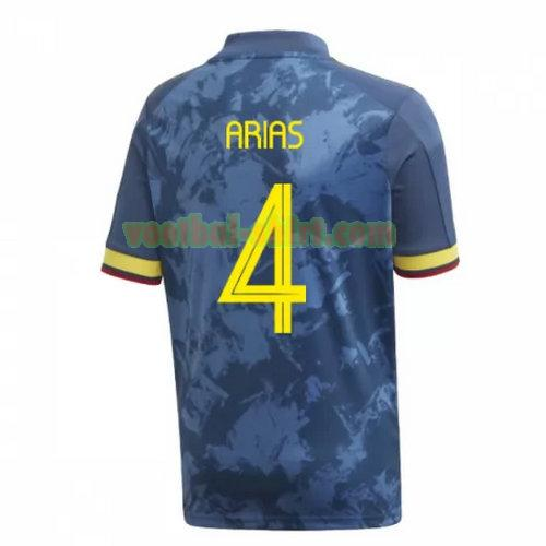 arias 4 colombia uit shirt 2020 mannen