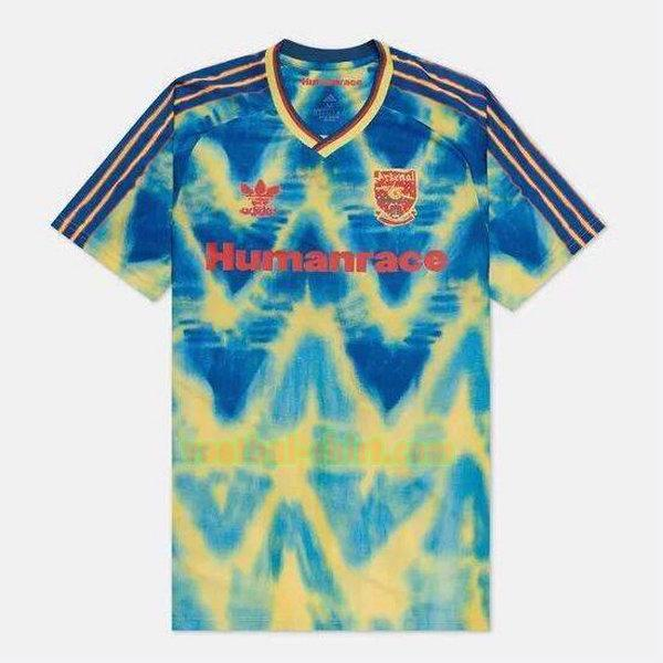 arsenal adidas design shirt 2020-2021 blauw mannen