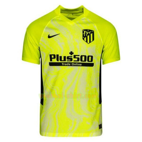 atletico madrid 3e shirt 2020-2021 geel mannen