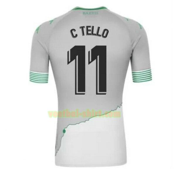 c tello 11 real betis 3e shirt 2020-2021 mannen
