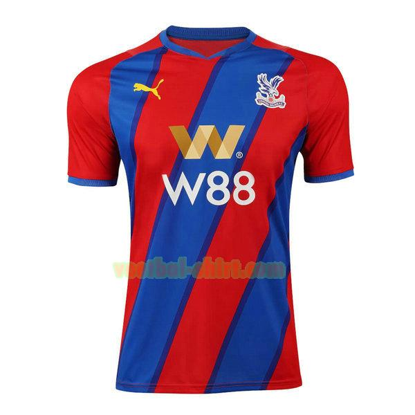 crystal palace thuis shirt 2021 2022 thailand blauw rood mannen
