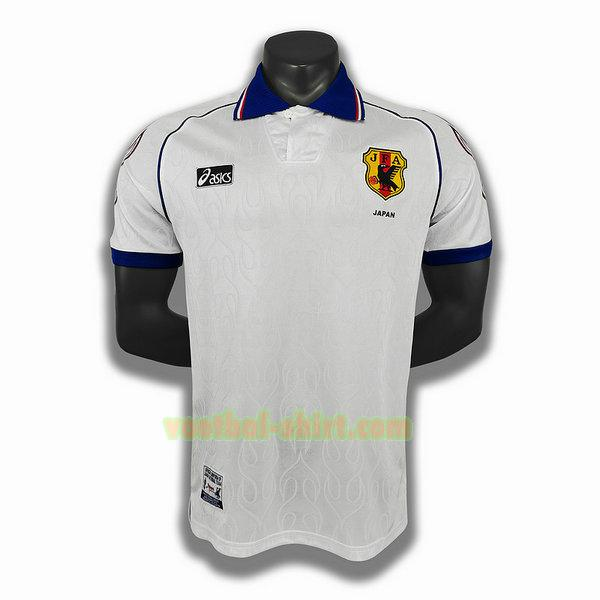 japan uit player shirt 1998 wit mannen
