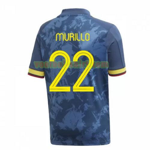 murillo 22 colombia uit shirt 2020 mannen