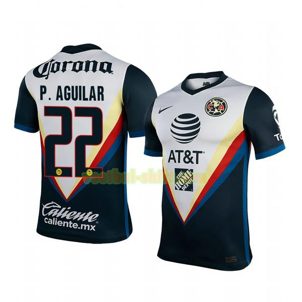 paul aguilar 22 club america uit shirt 2020-2021 mannen