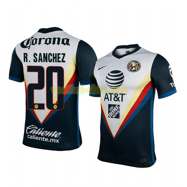 richard sanchez 20 club america uit shirt 2020-2021 mannen